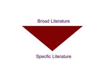 Discuss the importance of literature review in scientific